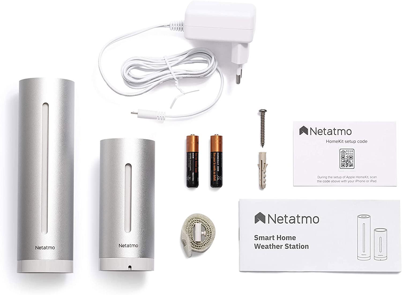 Netatmo - Stazione meteo con sensore esterno wireless - Package contents