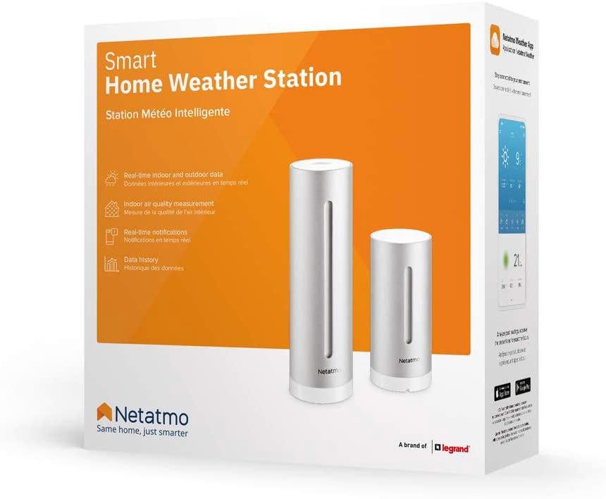 Netatmo - Stazione meteo con sensore esterno wireless - Package