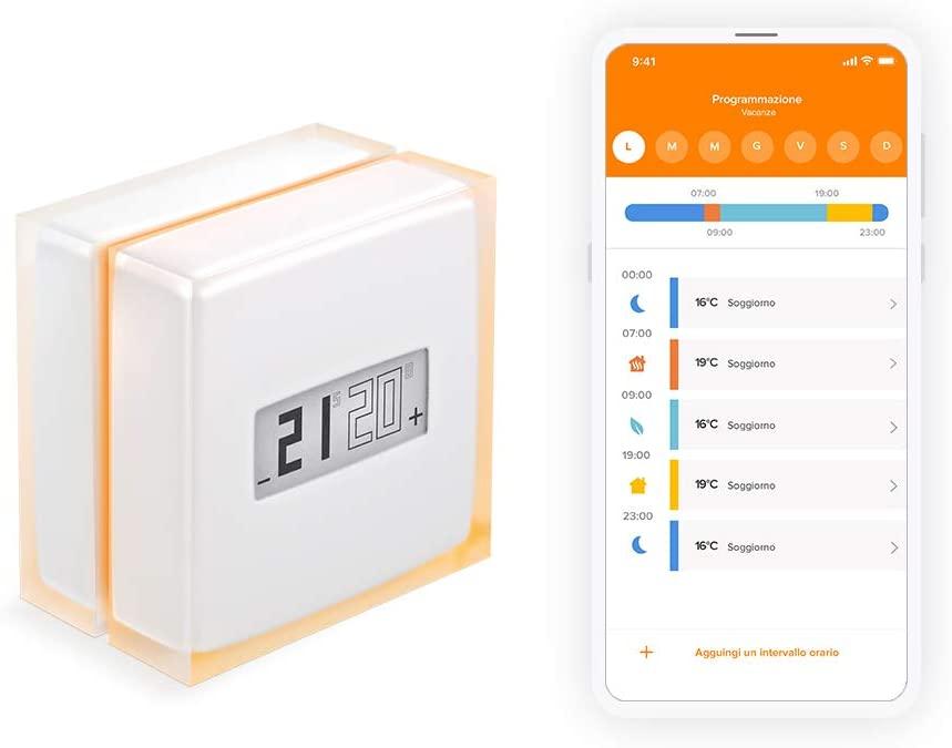 Netatmo termostato - app