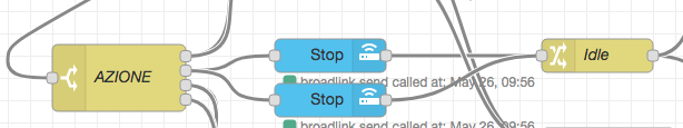 Node-RED - Broadlink multipli