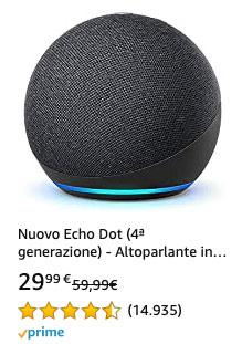 Offerta 20210323 - Amazon Echo 4 gen