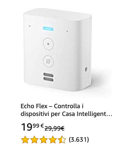 Offerta 20210323 - Amazon Echo Flex