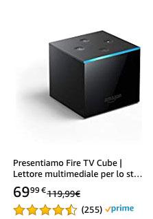 Offerta 20210323 - Amazon Fire TV Cube