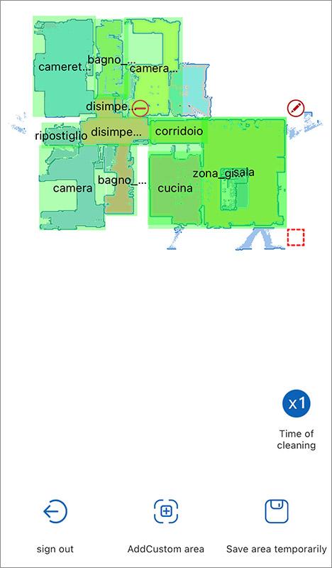 Proscenic M7 Pro - Mapping - 3