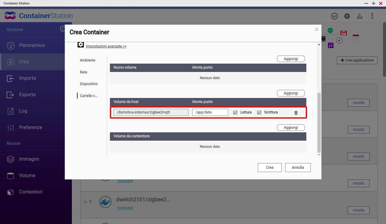 QNAP - FileStation - ZigBee2MQTT Docker - 5