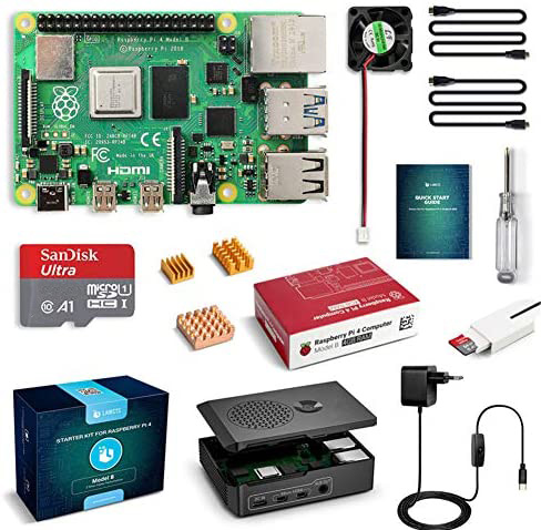 Raspberry Pi 4 Model B 4GB RAM Starter Kit