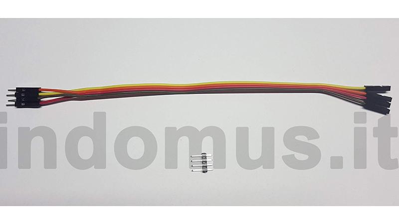Riprogrammazione Sonoff con mollette da bucato - 2