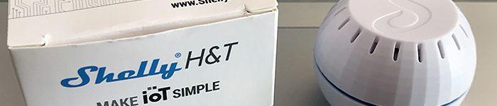 Shelly H&T – sensore di temperatura e umidità