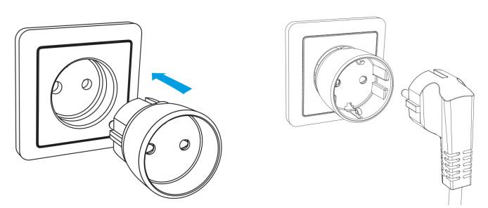 Shelly Plug S - Montaggio