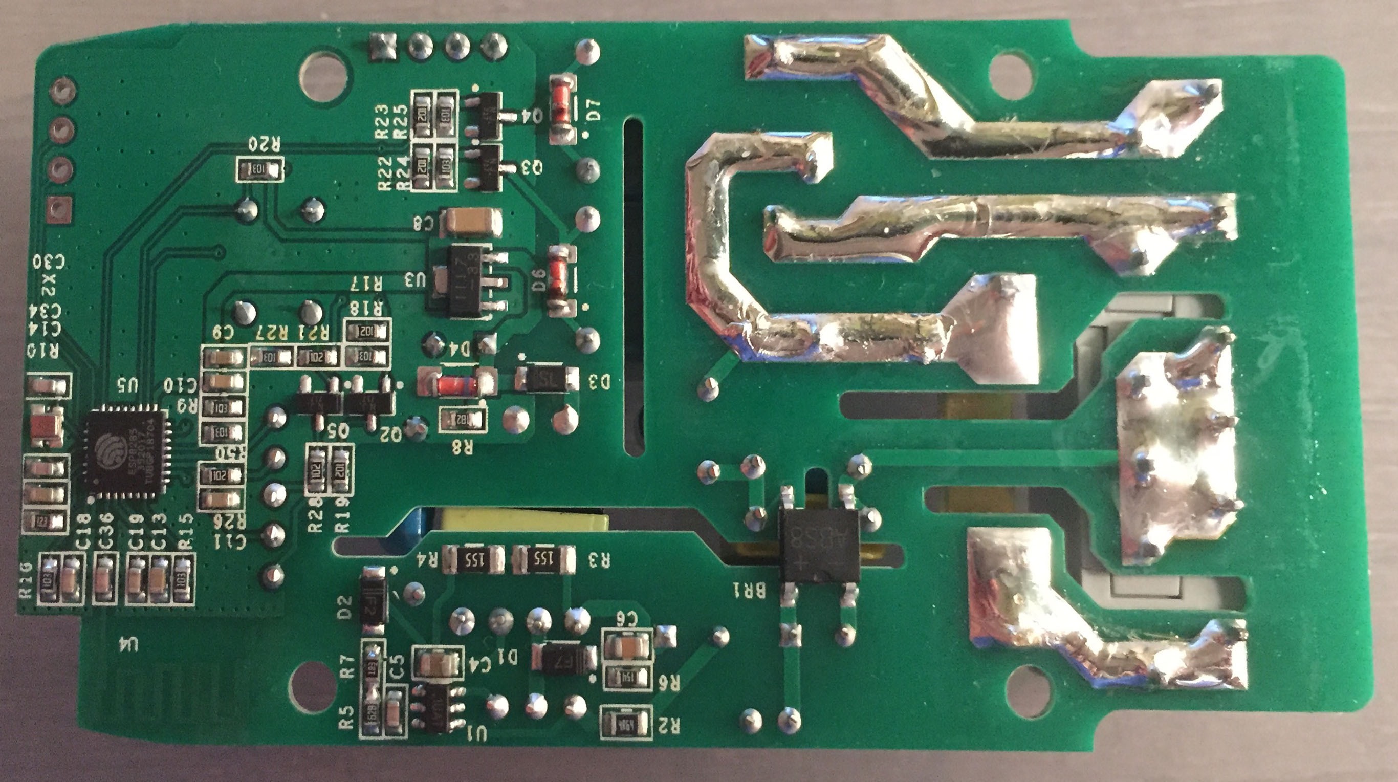 Sonoff Dual - Board - Bottom