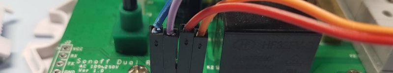 Controllare un Sonoff Dual tramite pulsanti o interruttori esterni