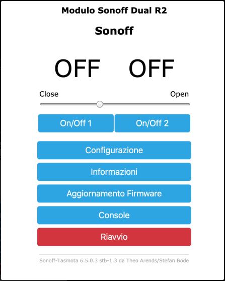 Sonoff-Tasmota (fork by stefanbode)