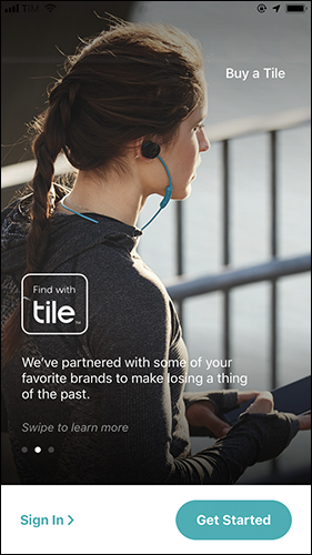Tile first open