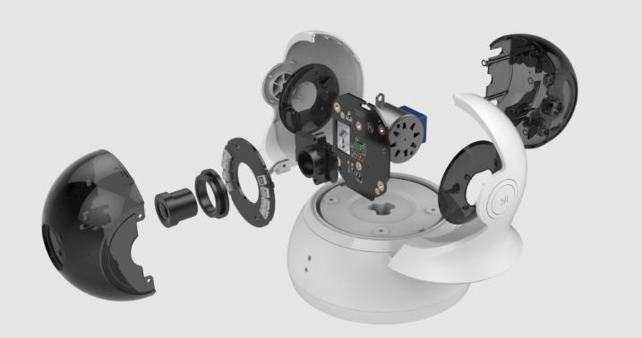 YI Dome Camera 1080p - esploso