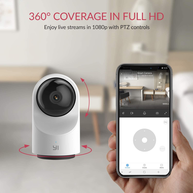 YI Telecamera Wi-Fi Interno 1080p Dome X - 360