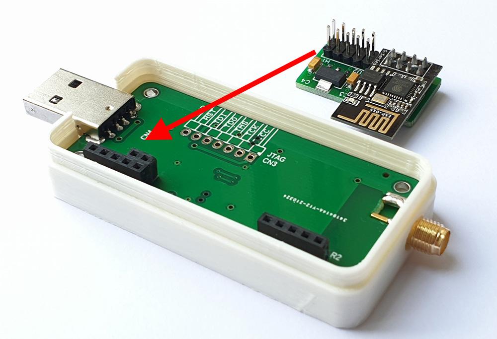 Z-Bee Duo e ESP-01 con ser2net - pre installazione