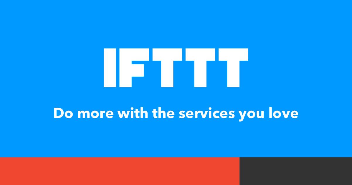 IFTTT Banner